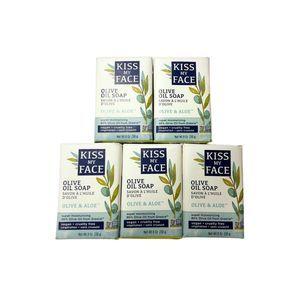 5x 8oz Kiss My Face Olive & Aloe Bar Soap Vegan